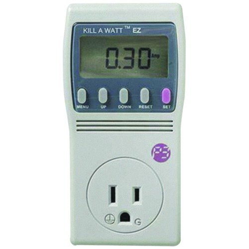 Kill A Watt EZ P4460) to monitor electricity usage, one device at a time