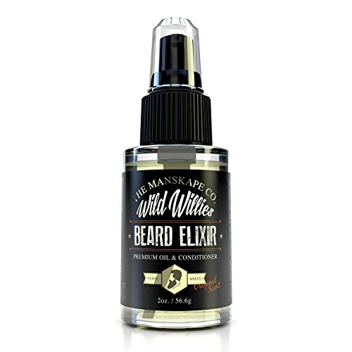Brand New Wild Willie's Beard Elixir - This Amazing Beard Oil is Made Of 10 Natural Organic Nutrient Rich Essential Oils That Condition and Treat Each and Every Follicle Down To Their Roots. Each Batch Is Handmade In Small Numbered Runs. Once You Try It, You Will Be Hooked. Trust Me, She Will Thank You! Bottle Double the Size of Competitors. We Guarantee It! (Original)