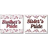 Planet Jashn Brothers Pride And Sisters Pride Badges