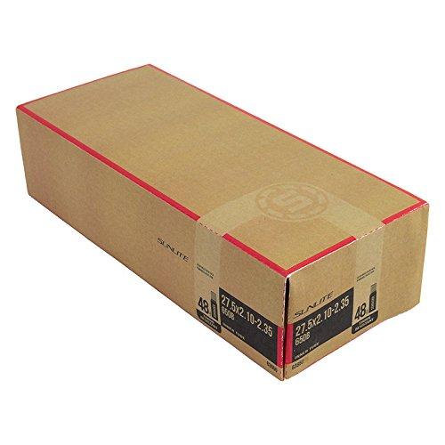 Sunlite Thorn Resistant Schrader Valve Tube, 27.5 x 2.10-2.35″ (650B) / 48mm, Black
