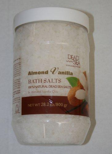 Dead Sea Collection - Almond Vanilla 28.2oz Natural Dead Sea Bath Salts