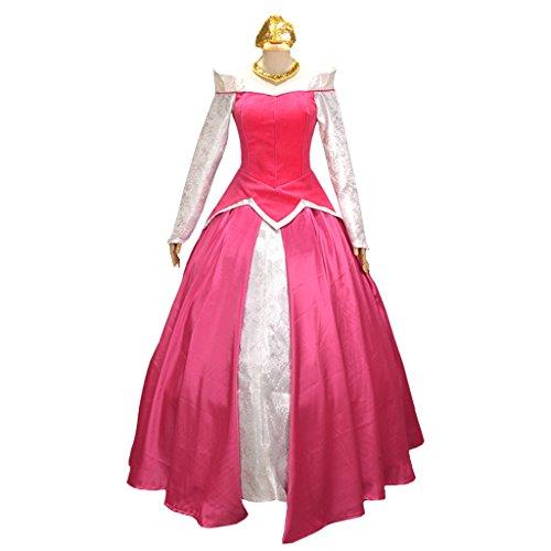 Halloween 2017 Disney Costumes Plus Size & Standard Women's Costume Characters - Women's Costume CharactersCosplayDiy Women's Cosplay Dress for Sleeping Beauty Princess