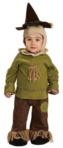Wizard of Oz Toddler Scarecrow Costume Romper