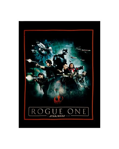Rogue One: A Star Wars Story Heroes 36'' Panel Multi Fabric By The Yard