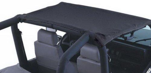 Rampage Jeep 92815 California Brief Denim Black Soft Top