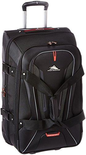 High Sierra AT7 Rolling Upright Duffel Bag, Black, 32-Inch