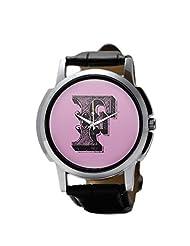 PosterGuy Alphabet F Typography Men's Wrist Watches