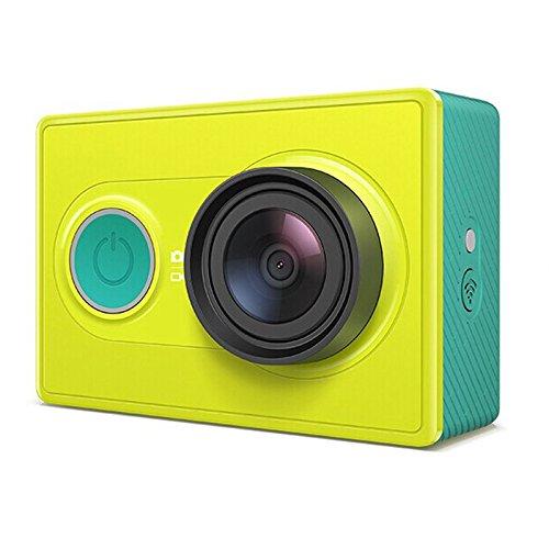 Xiaomi yi Caméra sport Édition standard 16 mégapixels 4608x3456 1920x1080p Wi-Fi Bluetooth 4.0 Vert/jaune