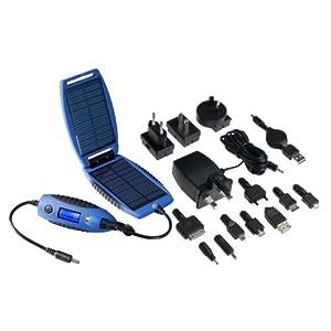 PowerTraveller Explorer Solar Power Charger Device -Blue