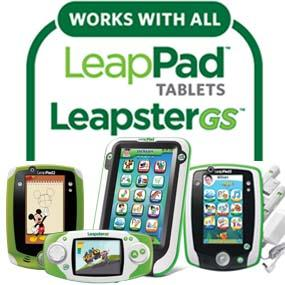 Compatible with all LeapPad Kids' Learning Tablets and LeapsterGS.
