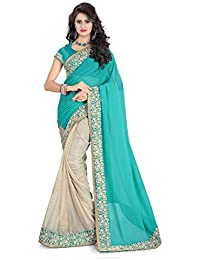 Sarees(Women's Clothing Sarees For Women Latest Designer Wear Sarees Collection In Latest Sarees With Designer... - B06X91DVJ7
