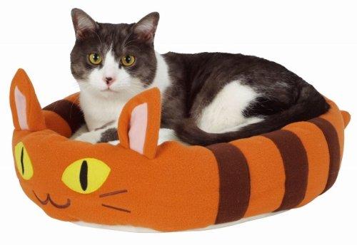 まるで、となりのトトロの「ねこバス」そっくり?! (株)ヤマヒサ Petio(ペティオ) ネコ のっかり ベッド