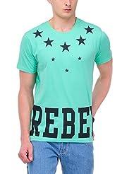 Yepme Men's Graphic Cotton T-shirt - B00O32OSYK