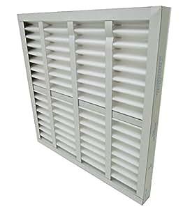 AIR HANDLER 20x25x4 Pleated Air Filter, MERV 7, 2W237 ...