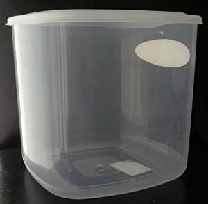 big kitchen storage containers 1 x large plastic storage food container 5 litres 4629
