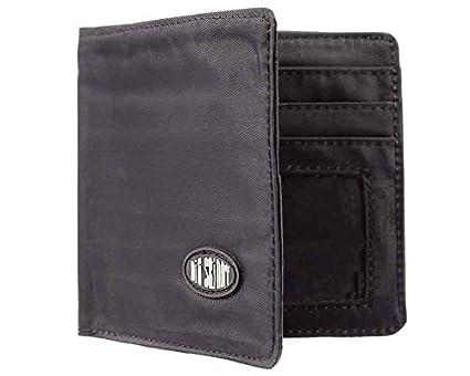 Thinnest Wallets on the internet: Big Skinny Men's World Bi-Fold Slim Wallet, Black