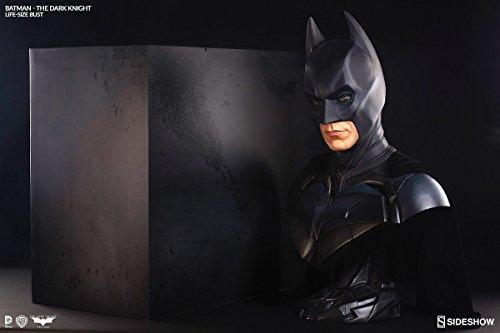 Batman The Dark Knight 29 Inch Bust Statue - Batman Life-Size Bust Sideshow