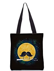 Snoogg Birdy Love Poly Canvas Tote Bag