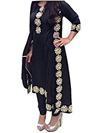 HK Textile Cotton Patiala Dress Material For Women New Latest Design Free Size Stitch Upto Xxl Party Wear