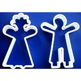 NEW GingerBread Man Doll Girl Boy Groom Bride Man Woman Sugar COOKIE BISCUIT CUTTER