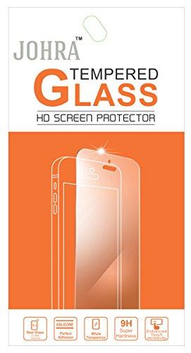Johra Tempered Glass Screen Scratch Guard Protector For Infocus M812i