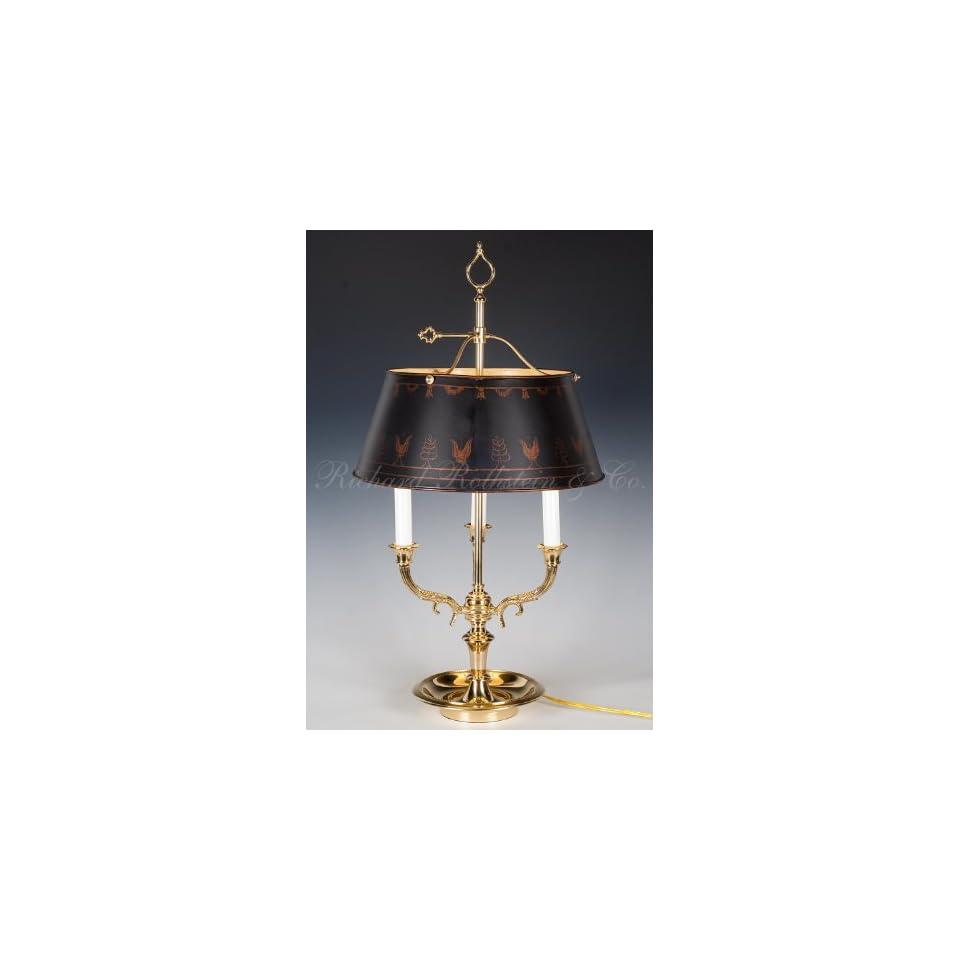Brass Bouillotte Table Lamp On Popscreen