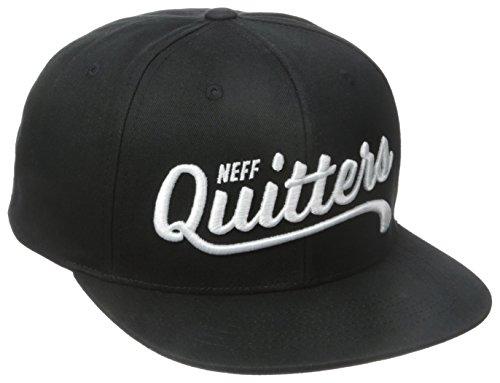 Neff Men's Quitters Cap, Black, One Size