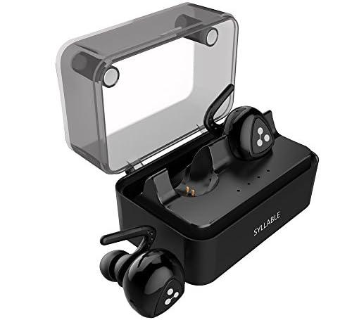 OKCSC D900 TWS Bluetoothイヤホン ワイヤレスイヤホン カナル型 ヘッドホン ミニ スポーツヘッドセット 高音質 両耳 V4.1 iPhone7に対応 マイク付き ブラック