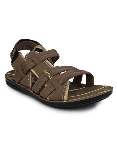11e Tan Floater Sandals