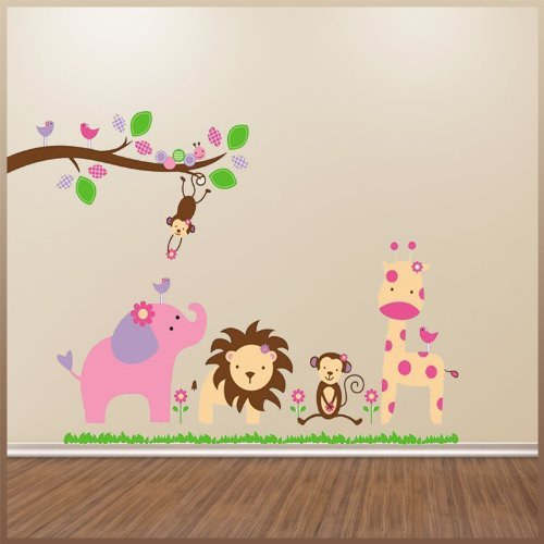 Jungle Animal Wall Decals for.