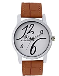 IIK COLLECTION IIK-525M Round Shaped Analog Watch - For Men