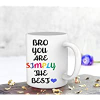 Tied Ribbons Best Gift For Rakhi To Brother Printed Coffee Mug(325 Ml)