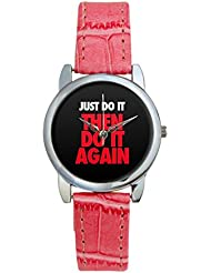 Bigowl Just Do It Then Do It Again Analog Women's Wrist Watch 2003078303-RS3-S-PK1
