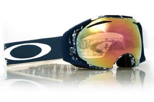 Oakley Airbrake Snow Goggle, Tagline with Black and HI Persi