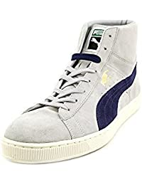 Puma Mens Suede Mid Classic Sneakers
