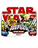 Star Wars 2009 Galactic Heroes 2-Pack Kit Fisto and General Grievous