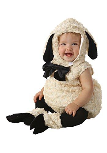 Princess Paradise Unisex Baby Vintage Lamb, White/Black, 18M/2T