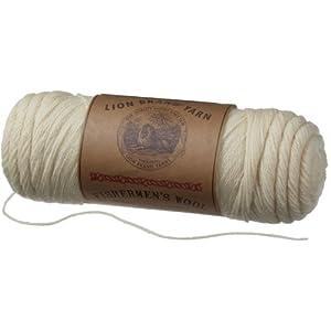 Lion Brand Yarn Fishermen's Wool Yarn