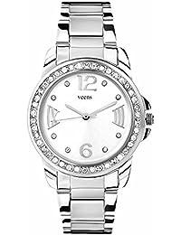 Veens White Dial Girls/Womens/Ladies Wrist Watch DW1135