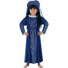 Charlie Crow Lady Catherine Tudor Costume Age 7-9