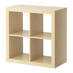 IKEA Regal EXPEDIT (4 Fächer) BIRKE, 79x79x39cm: Amazon.de