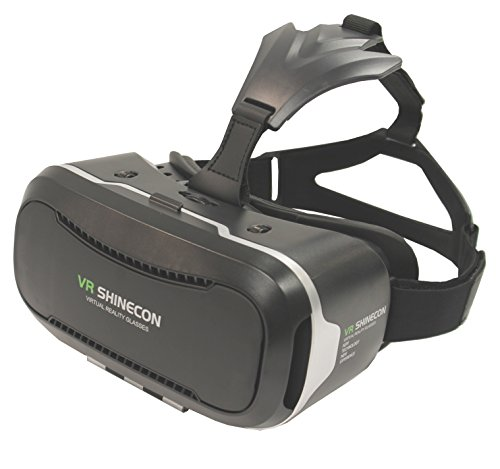 "VR Shinecon 2.0 Virtual Reality Headset for Smartphones Up to 6.4"", VR Headset for iPhones and Android"