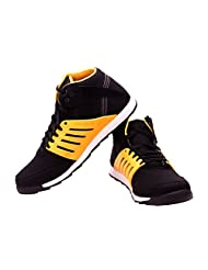 FBT Men's 9696 Black Sneaker Shoes