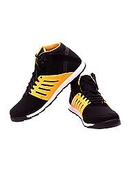 FBT Men's 9696 Black Sneaker Shoes