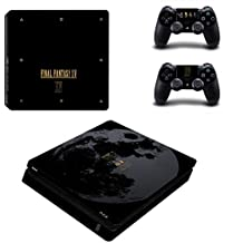 Hytech Plus Final Fantasy XV Special Edition Theme Sticker For PS4 Slim Console & 2 Controllers