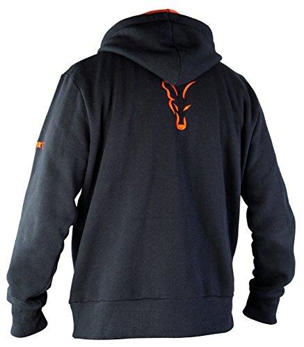 Fox Hoodie Black / Orange Kapuzenpullover - 2