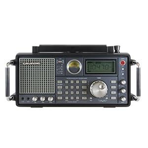 Grundig Satellite 750 AM/FM-Stereo/Shortwave/Aircraft Band Radio with SSB (Single Side Band), Black