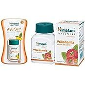Himalaya Weight Wellness Combo (Ayurslim & Vrikshamla) Pack Of 2 Each