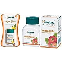 Himalaya Weight Wellness Combo (Ayurslim & Vrikshamla) Pack Of 3 Each