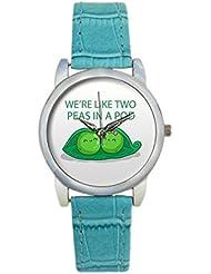 Bigowl We're Like Two Peas In A Pod Analog Women's Wrist Watch 2003795903-RS3-S-TEA
